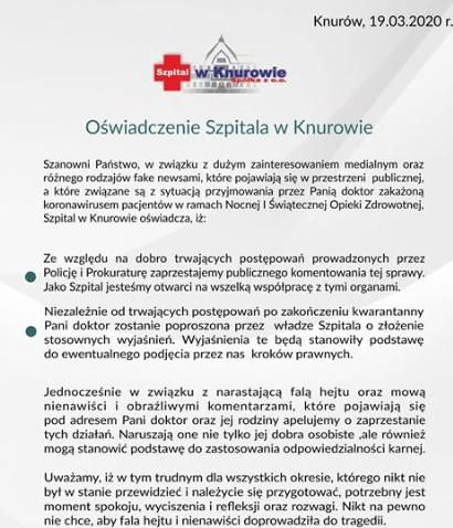 szpital knurow
