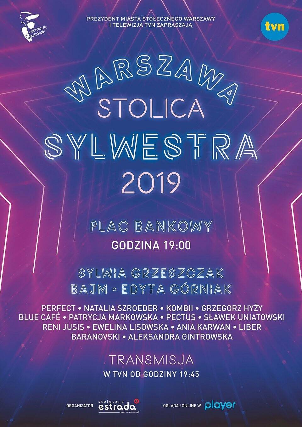 Warszawa sylwester