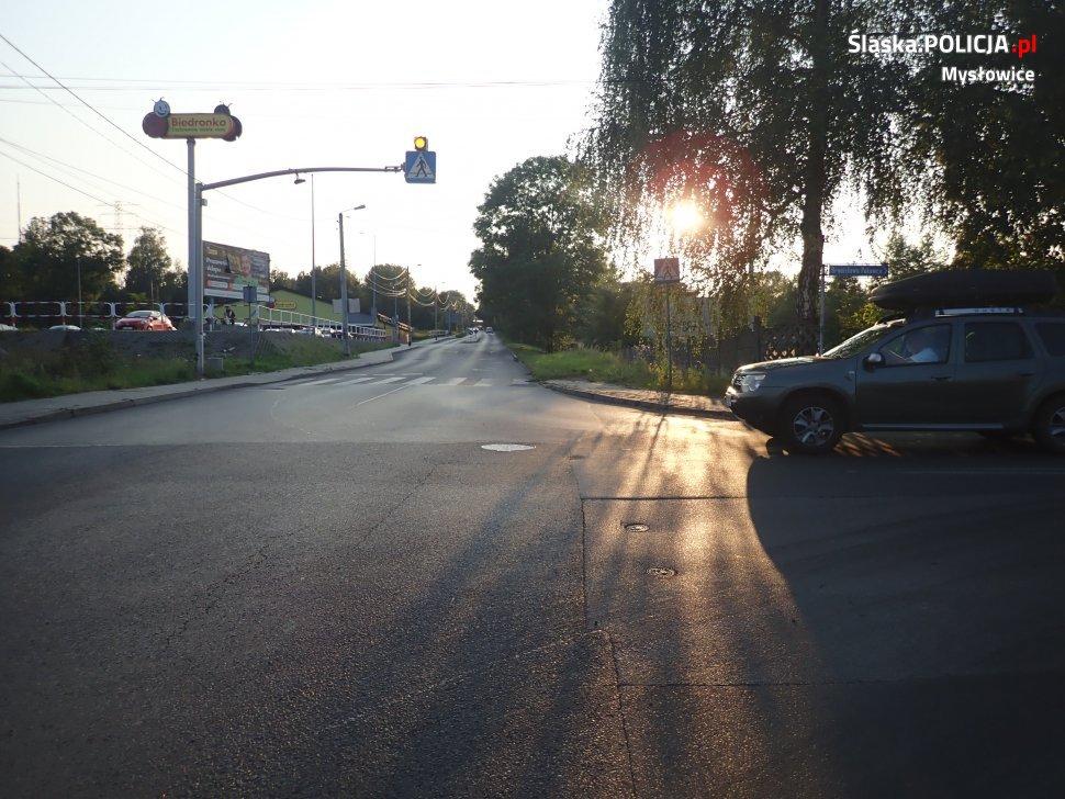 wypadek w Mysłowicach