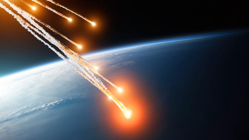 Białko wewnątrz meteorytu
