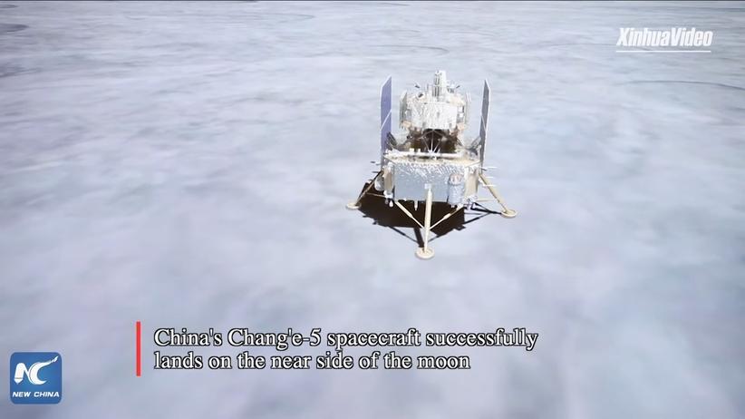 Change 5 wylądował na Księżycu