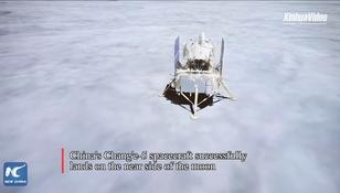 Chińska sonda Chang'e 5 wylądowała na Księżycu. Historyczna misja