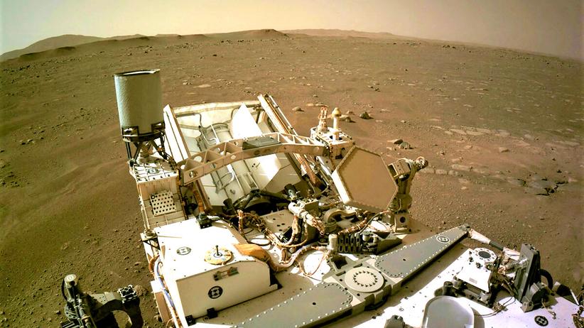 Dziura na Marsie w kształcie Polski