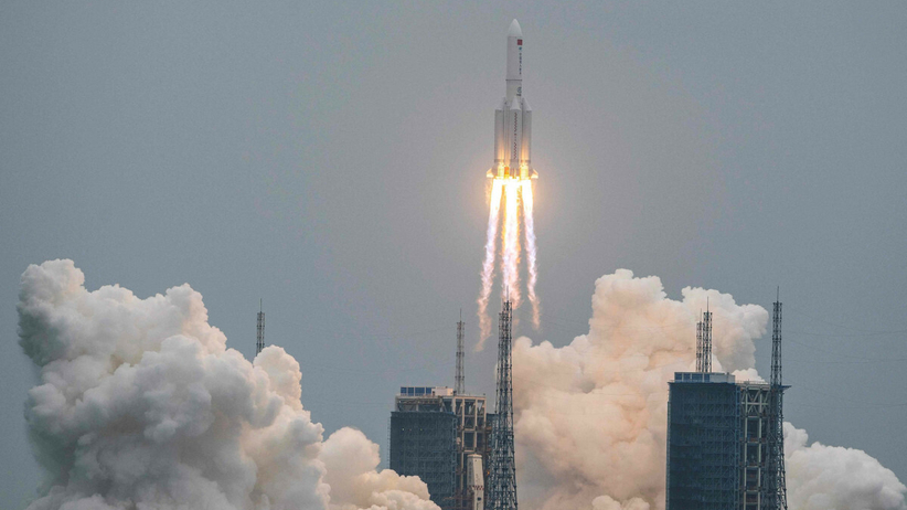 chińska rakieta kosmiczna