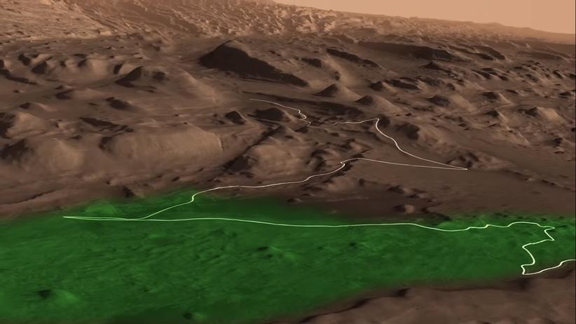 Niezwykłe odkrycie na Marsie. Znaleziono dowód na istnienie życia?