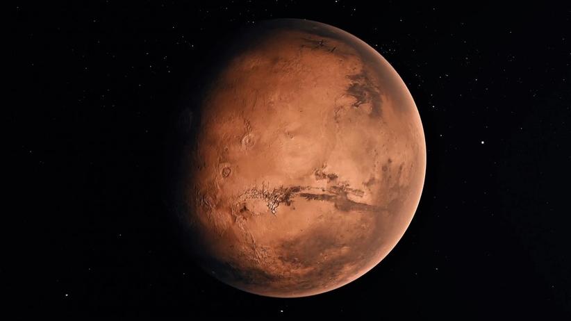 Mars najbliższej Ziemi 2020