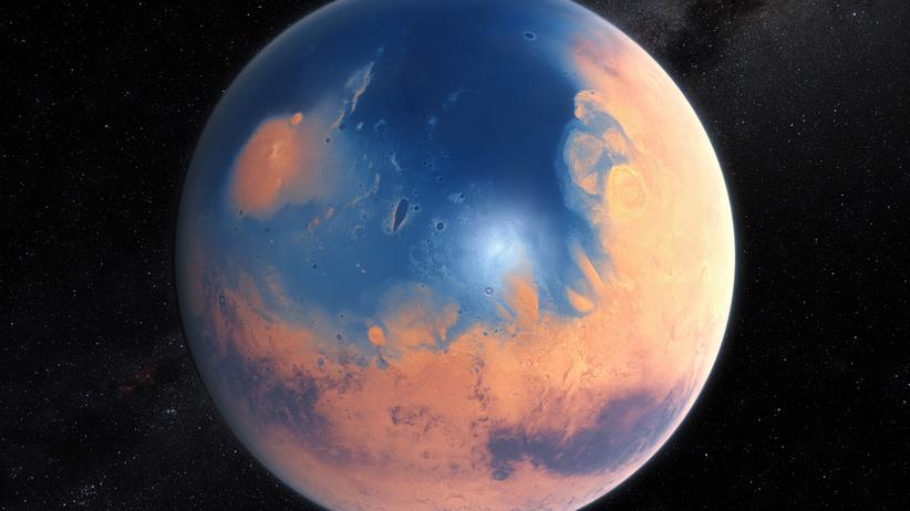 megapowodzie na Marsie