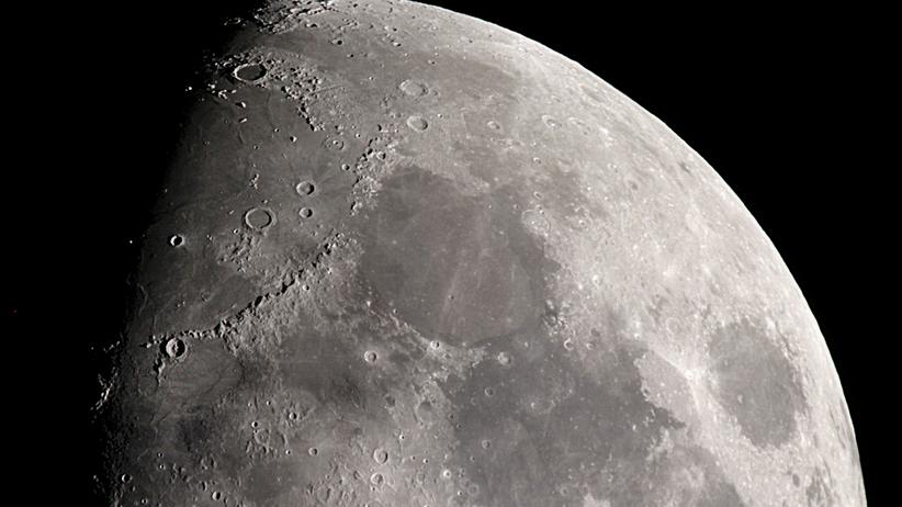 odkrycie na Księżycu