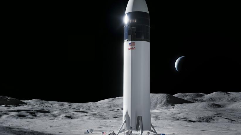 misja na Księżyc nasa space x