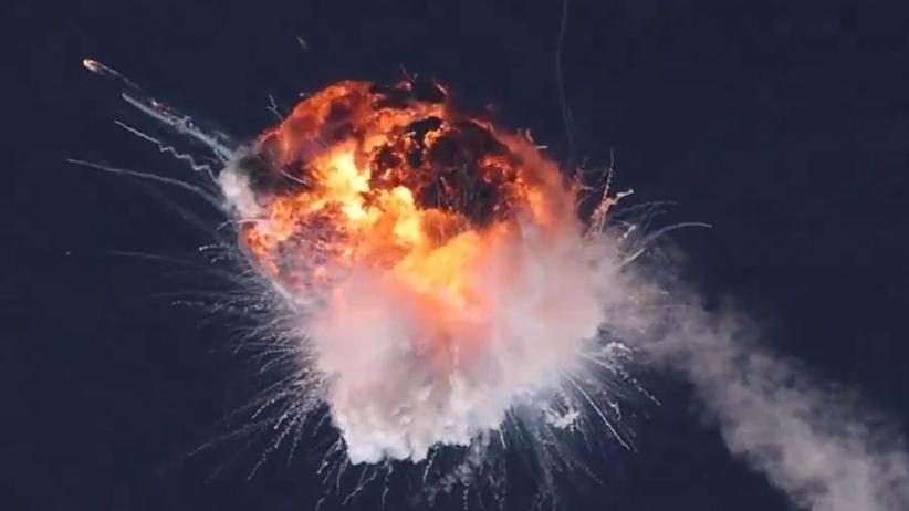Rakieta Alpha wybuchła nad Pacyfikiem