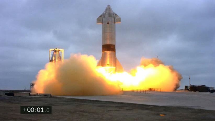 Lądowanie Starship SN15