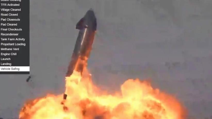 starship rakieta