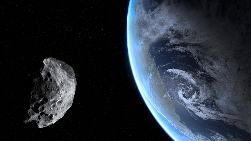 Trzy asteroidy blisko Ziemi, kwiecień 2021