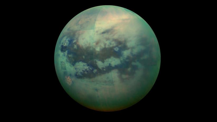 Tytan księżyc Saturna