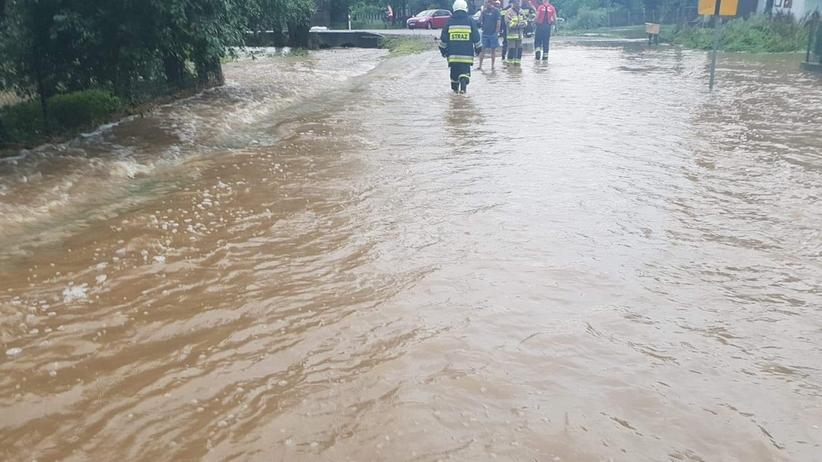 Burza na Podlasiu. Drozdowo i Supraśl zalane po nawałnicy