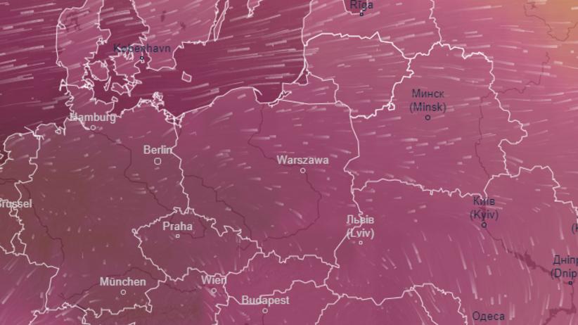 Mapa ciśnienia