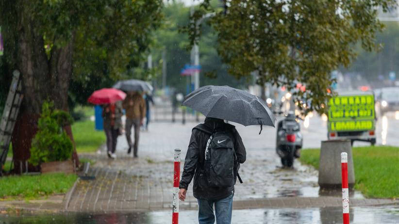 Alerty IMGW, deszcz 30 sierpnia