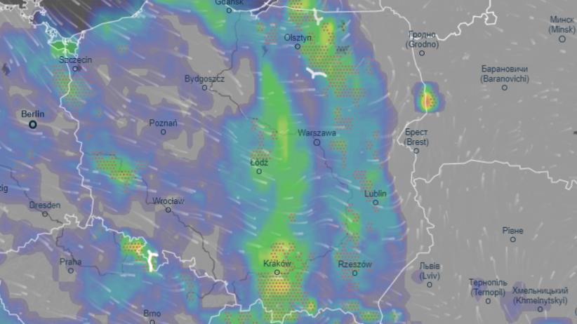 Gdzie jest burza 16 lipca? Mapa burzowa online. Alert dla 14 województw  - Wiadomości