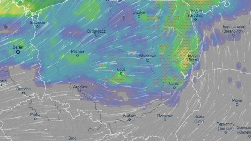 Gdzie jest burza 26 sierpnia? MAPA i radar burz. Uwaga na trąby powietrzne - Wiadomości