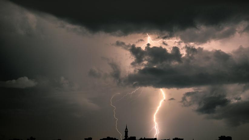 burze na południu Polski