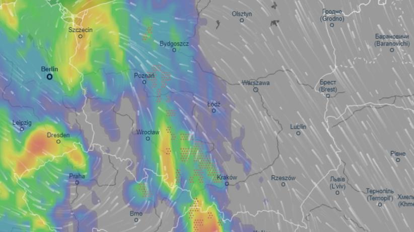 Radar burzowy online