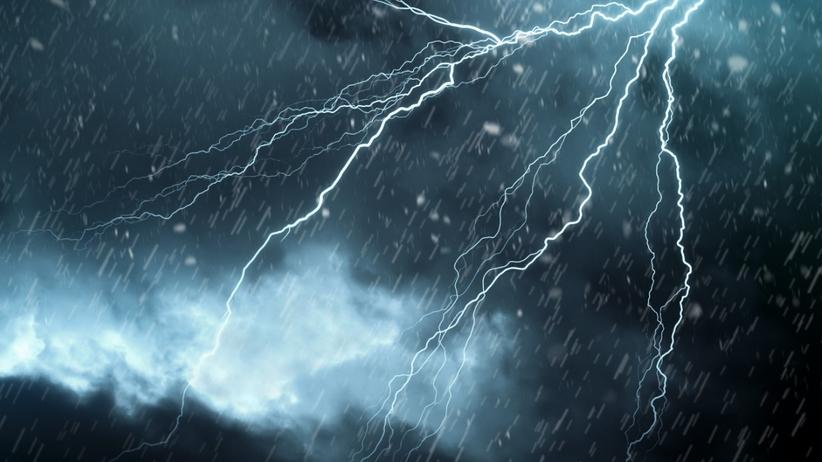 Burze z deszczem, IMGW