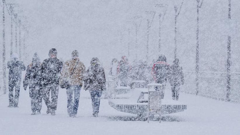 niszcząca śnieżyca nadciąga do Polski