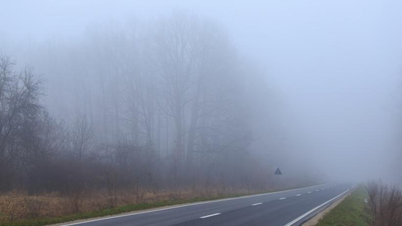 IMGW ostrzega przed gęstymi mgłami. Zagrożonych 9 województw