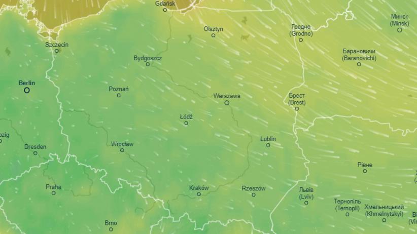 Mapa pogody