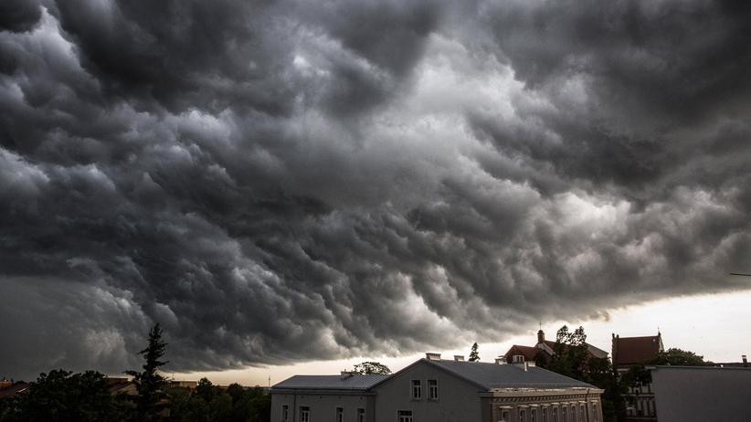 Chmury nad Łomżą