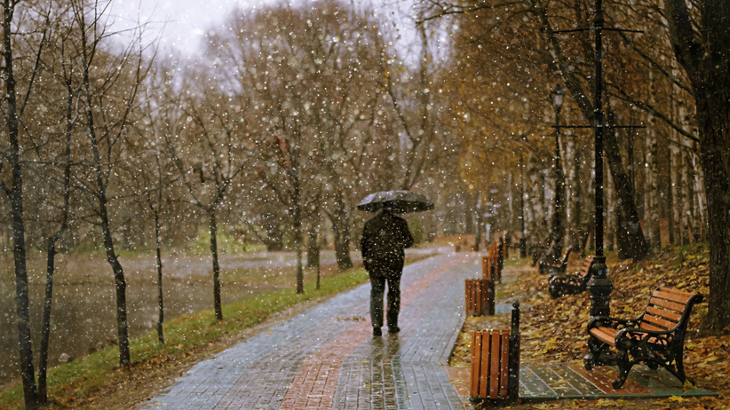 Pogoda na sobotę: opady w całym kraju, temperatura do 5 stopni