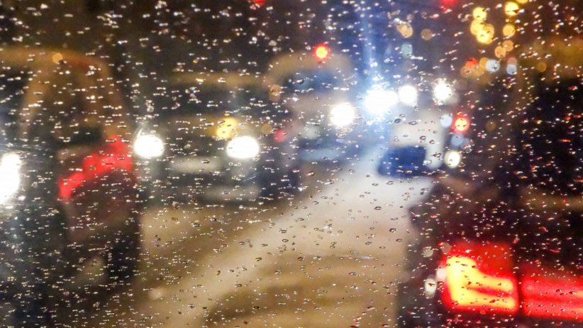 Deszcz ze śniegiem