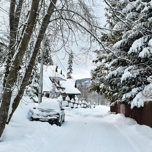 Pogoda. Atak zimy. W Zakopanem zamiecie śnieżne, w górach 1,5 m śniegu