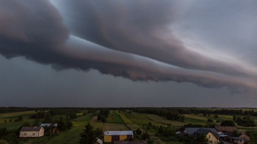 pogoda i burze w Polsce