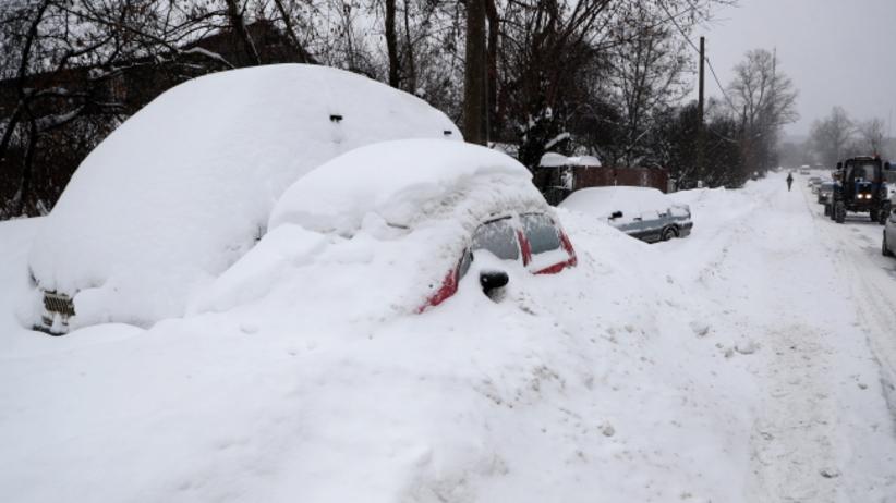 Atak zimy w Moskwie