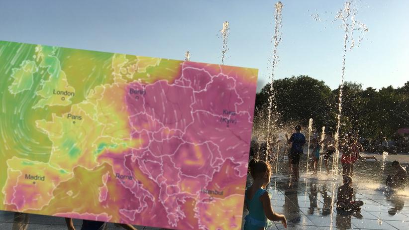 Pogoda. W Polsce upał większy niż w Madrycie. W Hiszpanii tylko 25 stopni