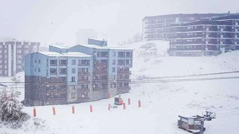 Pogoda. Zima w Europie. We francuskich Alpach jest 80 centymetrów śniegu