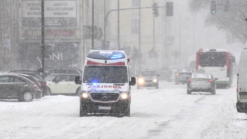 arktyczne masy powietrza w Polsce