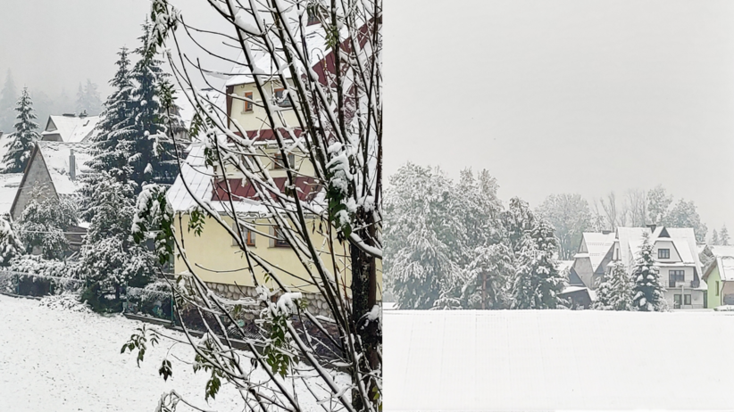 śnieg w Polsce