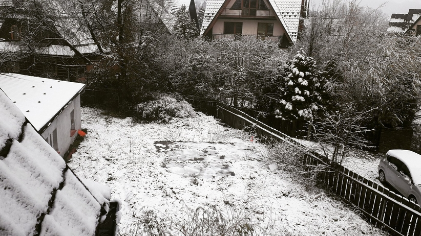 """Atak zimy na południu Polski. """"Pierwszy śnieg tej jesieni"""" [ZDJĘCIA]"""