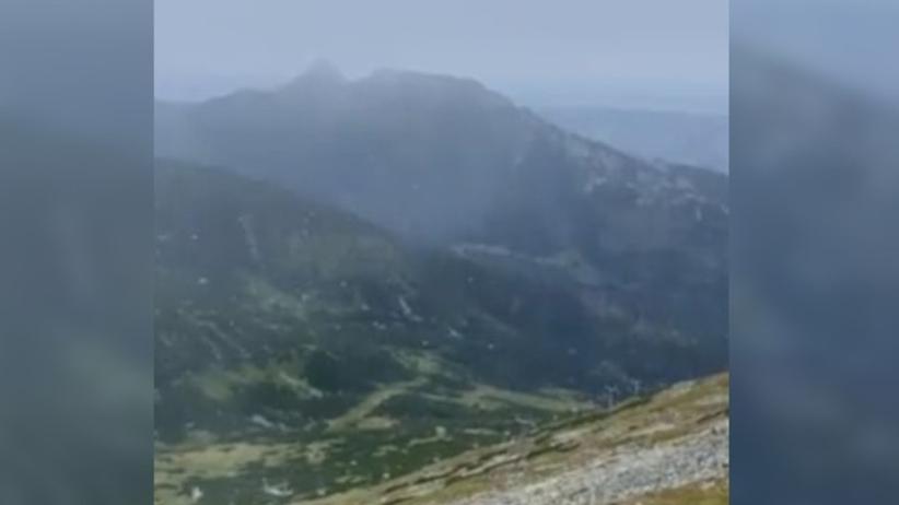 Śnieg w Tatrach - podało IMGW