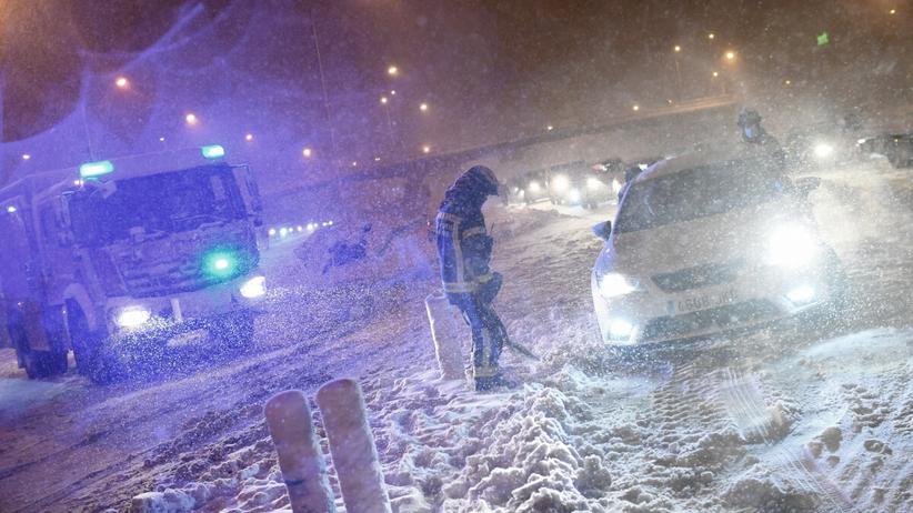 Śnieżyca Filomena