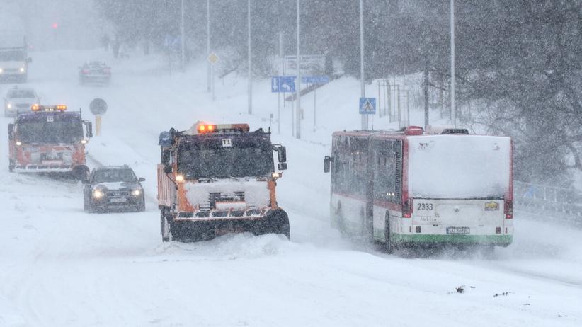 śnieżyce w Polsce
