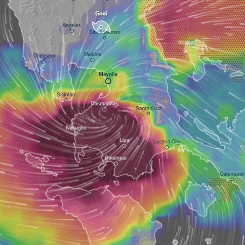 Tajfun Goni