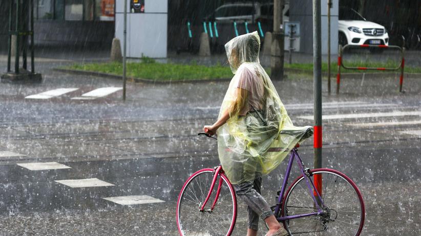 Deszcz i zachmurzenie w poniedziałek, 13.09