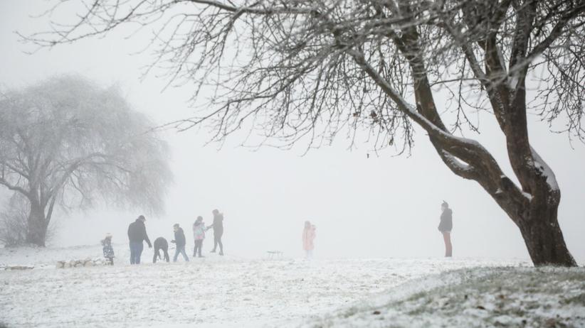 zima zbliża się do Polski