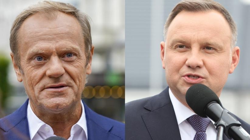 Donald Tusk Andrzej Duda