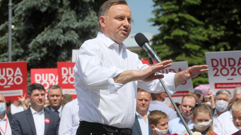 Andrzej Duda na Podlasiu