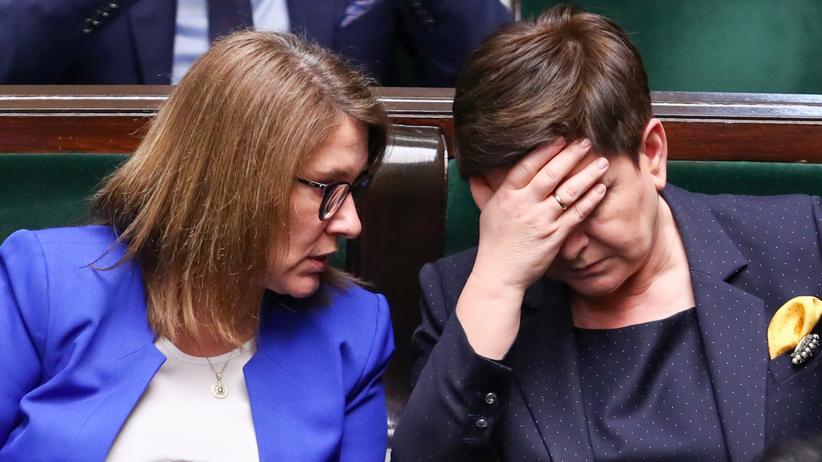 Beata Mazurek stanęła w obronie Kidawy-Błońskiej