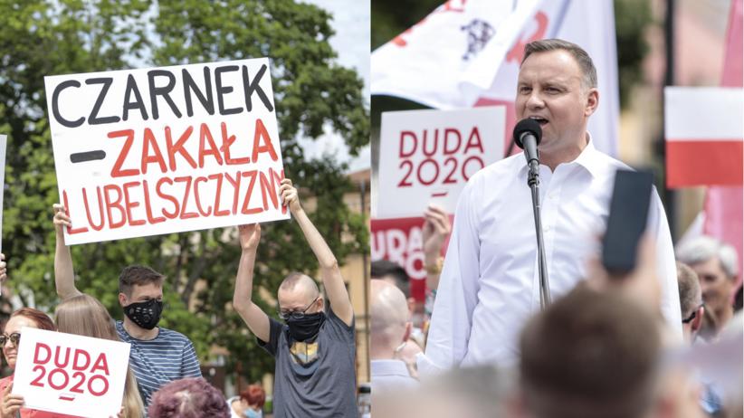 Duda w Lublinie
